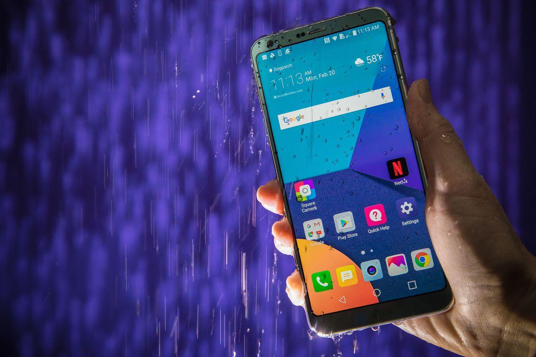 LG G6 otpornost