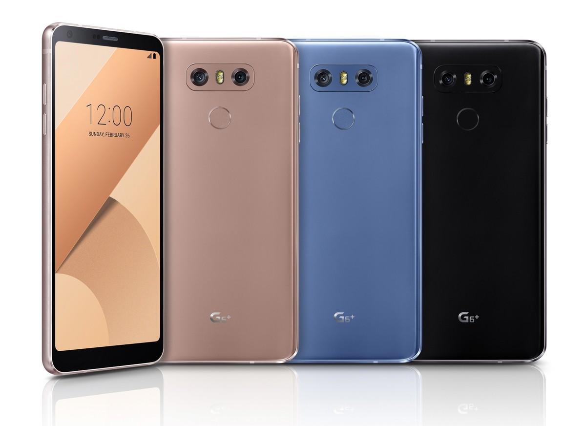 Predstavljen LG G6+