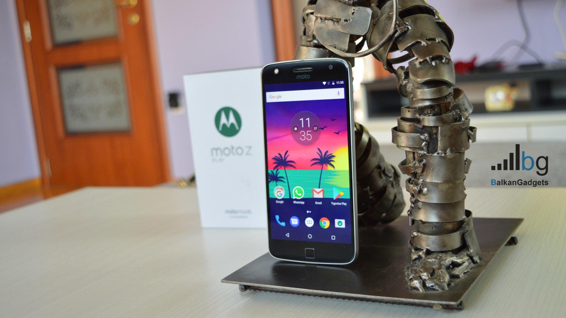 Motorola Moto Z Play Recenzija