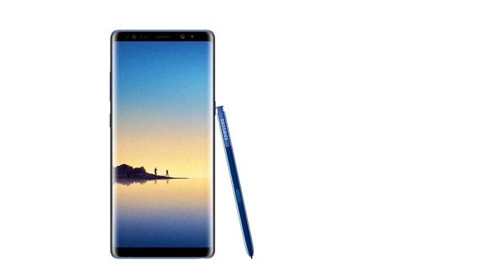 nova Galaxy Note 8 boja