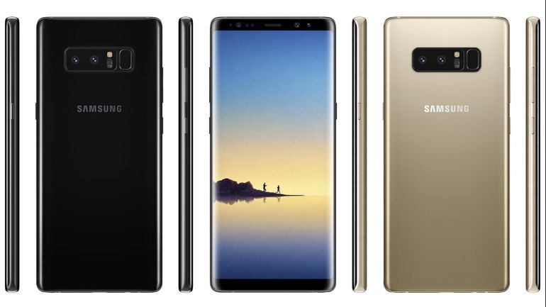 Galaxy Note 8 dostupnost