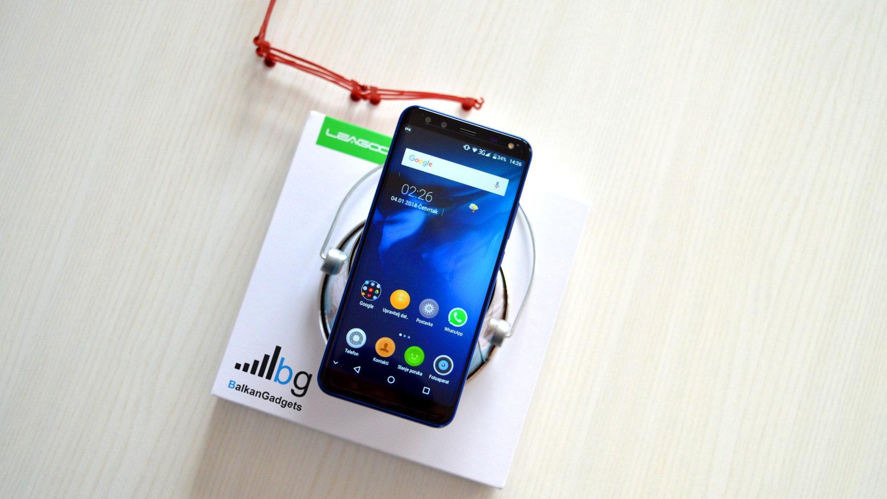 Leagoo S8 Recenzija review