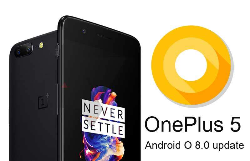 OnePlus 5 Android Oreo