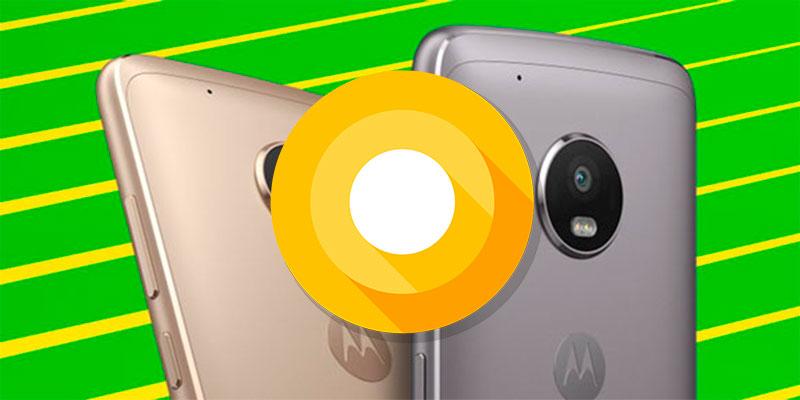 Motorola Oreo - Naslovna