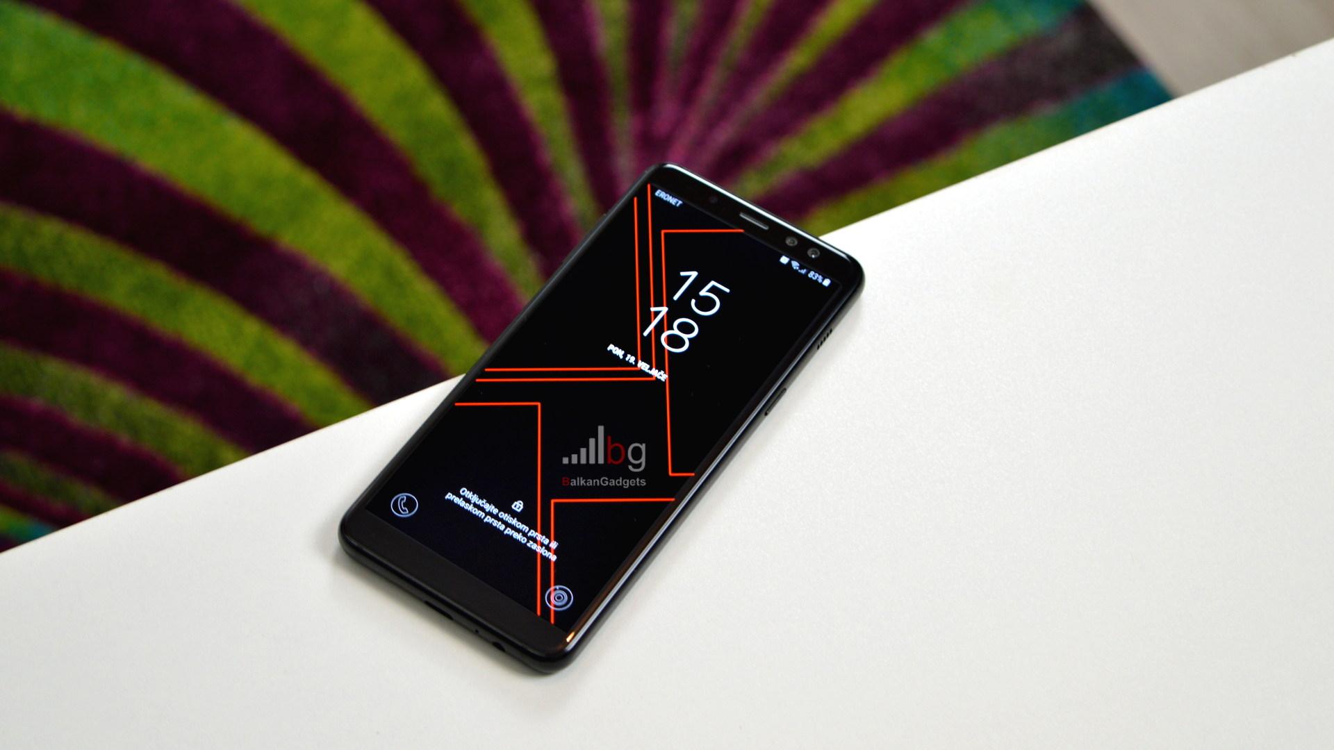 Samsung Galaxy A8 2018 recenzija