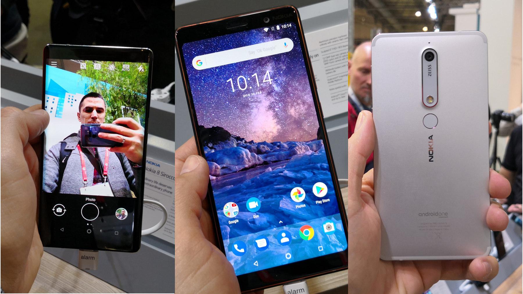 Nokia 8 Sirocco dojmovi Nokia 7 Plus dojmovi Nokia 6 2018 dojmovi