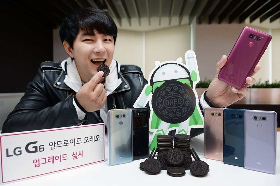LG G6 Android Oreo nadogradnja