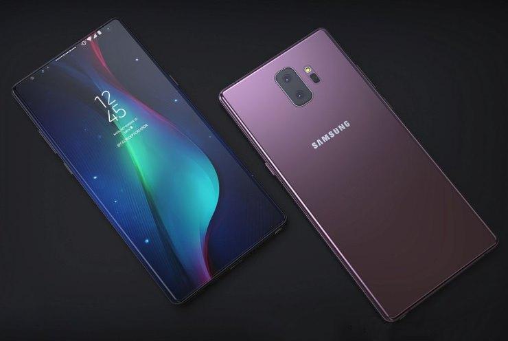 Samsung Galaxy Note 9 glasine