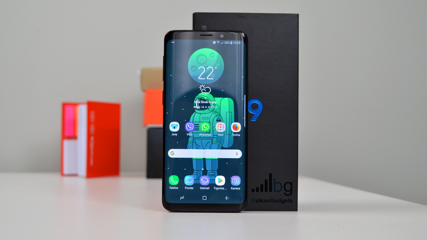 Samsung Galaxy S9 recenzija
