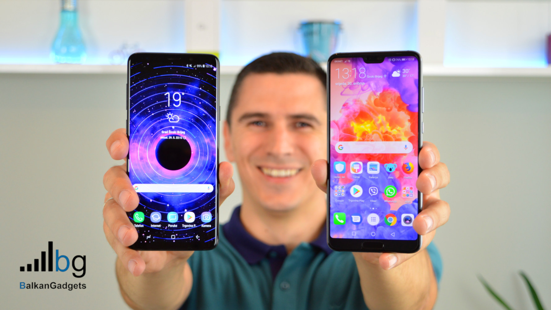 Huawei P20 Pro vs Galaxy S9 test brzine