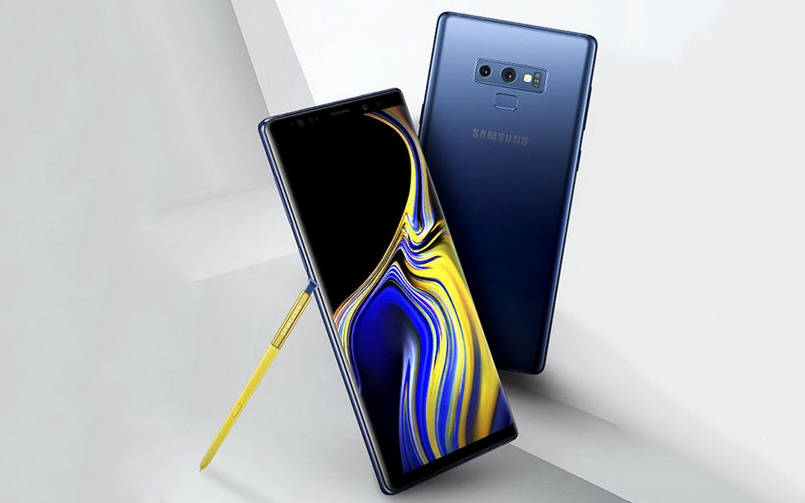Samsung Galaxy Note 9 naslov
