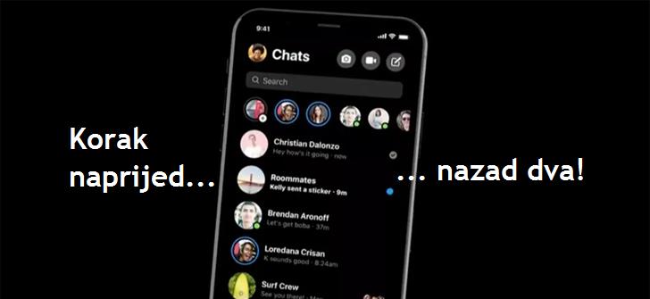 Novi Facebook Messenger redizajn - Naslovna