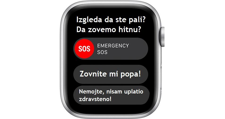 Apple Watch Series 4 zaštita od pada - Naslovna