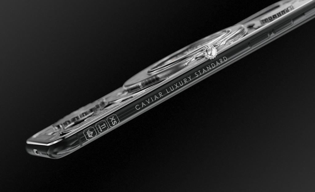 Caviar iPhone Xs Max skeleton cijena - Naslovna
