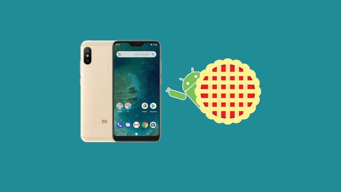 Xiaomi Mi A2 Lite Android 9 Pie nadogradnja - Naslovna