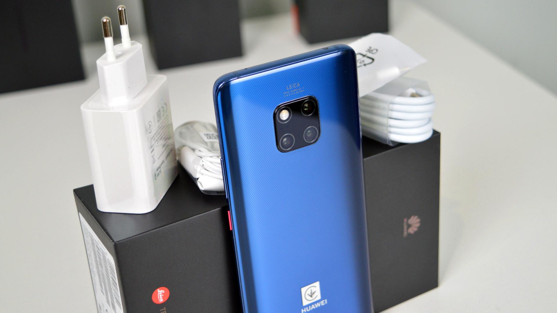 Huawei Mate 20 Pro test dojmovi pakovanje