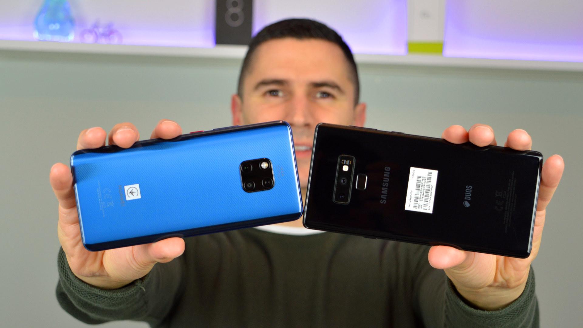 Huawei Mate 20 Pro vs Samsung Galaxy Note 9 usporedba kamera