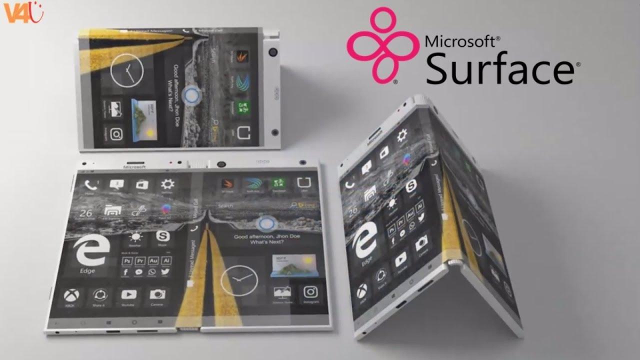 microsoft savitljvi uređaj surface andromeda (koncept)