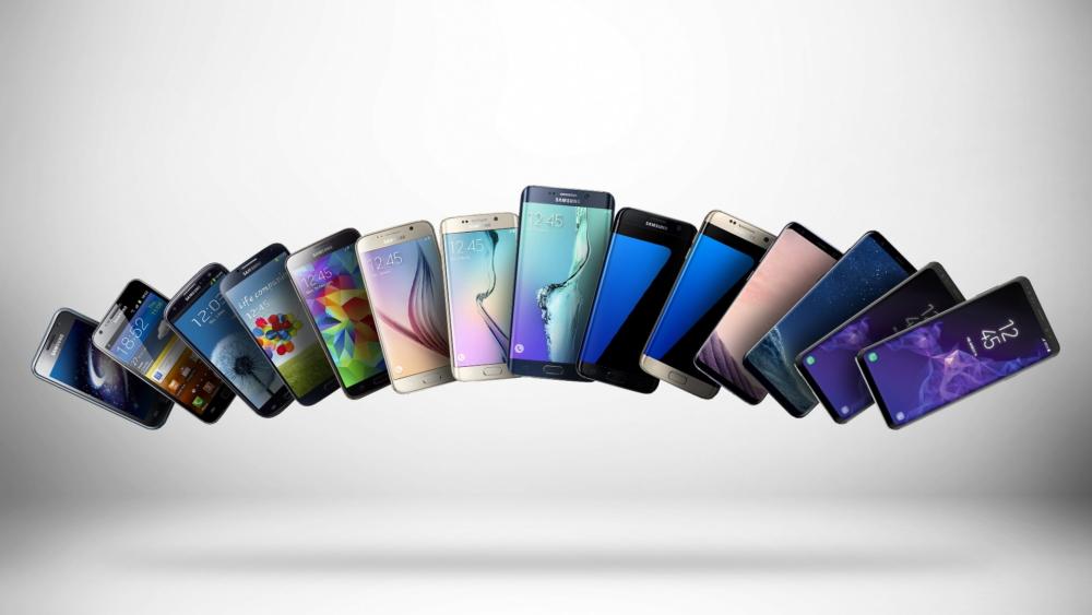 Samsung Galaxy S serija povijest - Naslovna