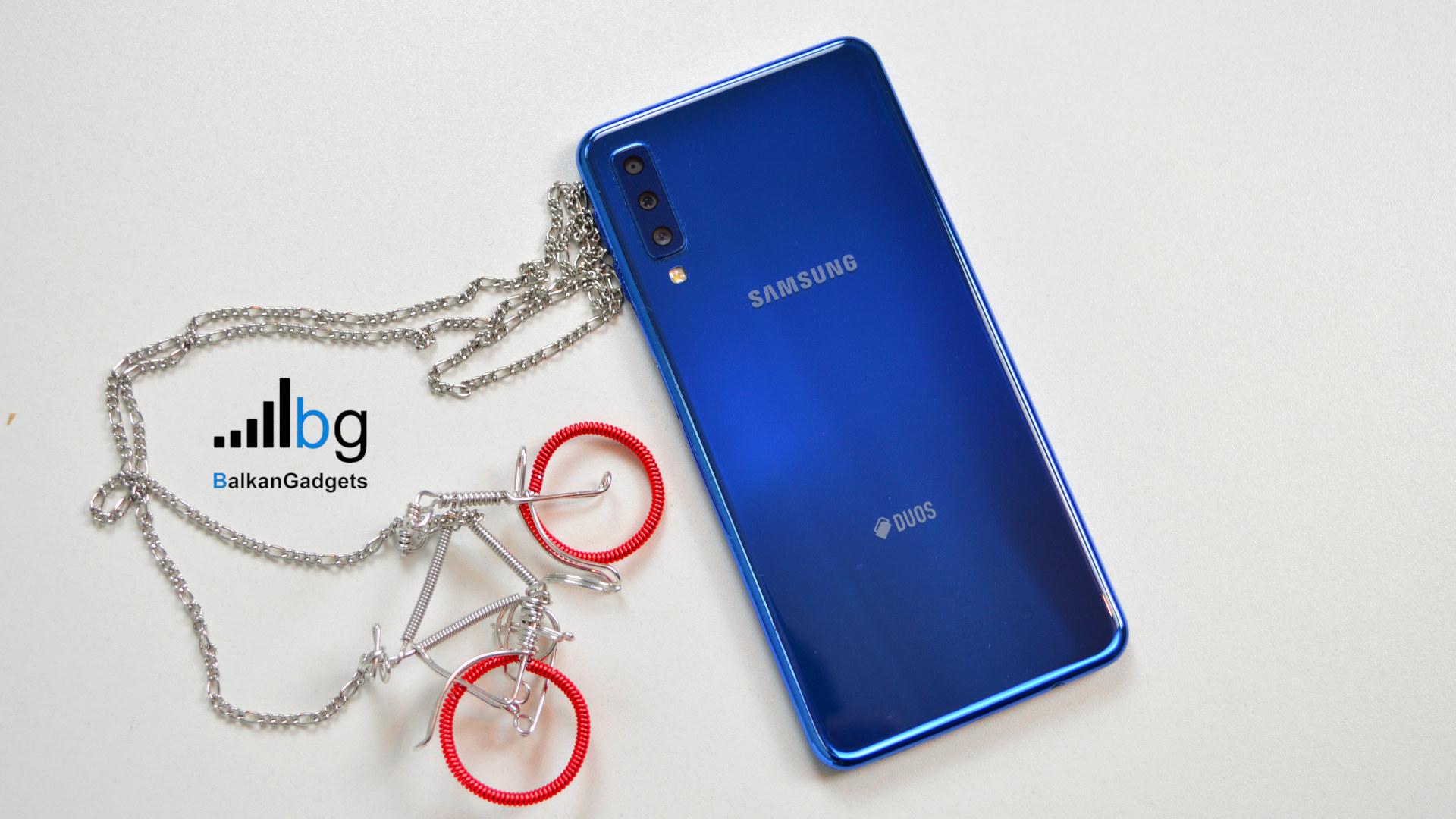 Samsung Galaxy A7 2018 recenzija dojmovi