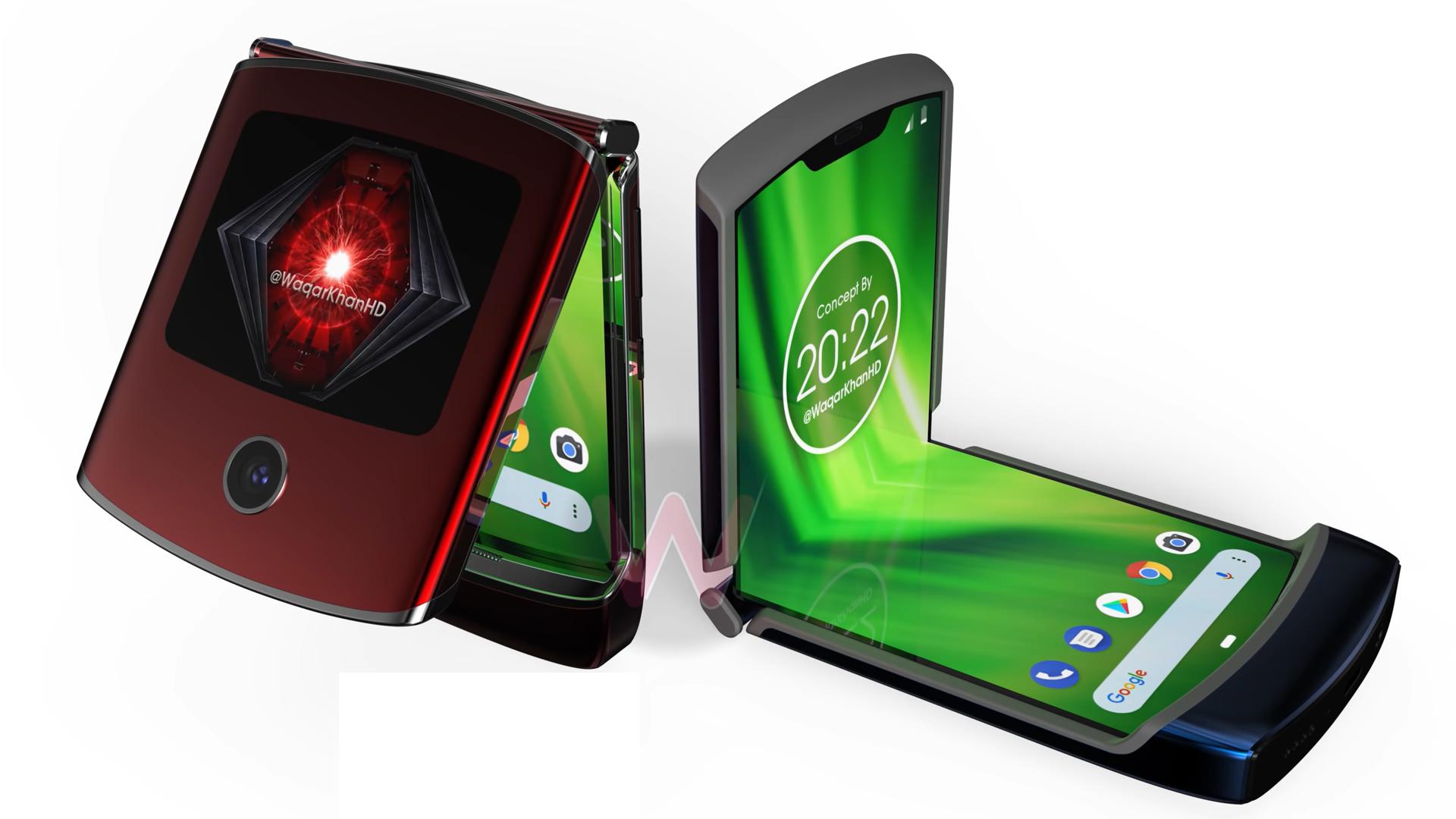 Motorola RAZR 2019 render video - Naslovna