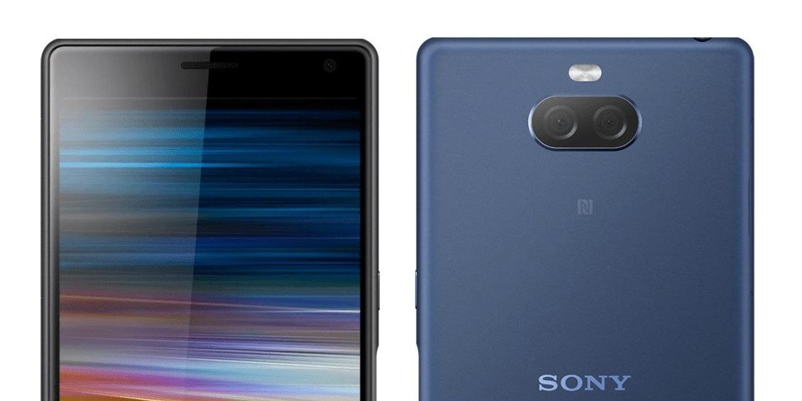 Sony Xperia XA3 fotografije zaslon - Naslovna