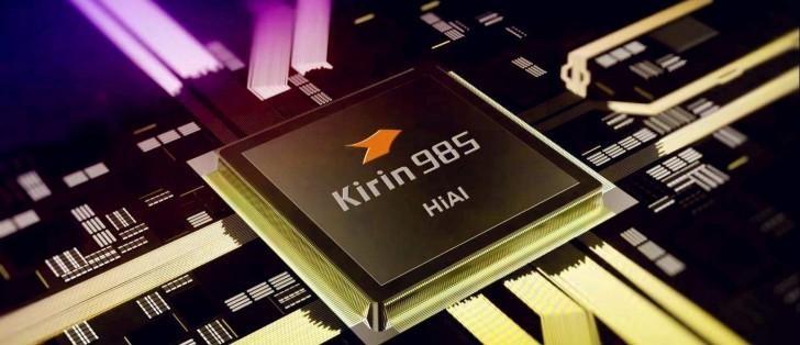 Huawei Kirin 985 čip 7+nm - Naslovna