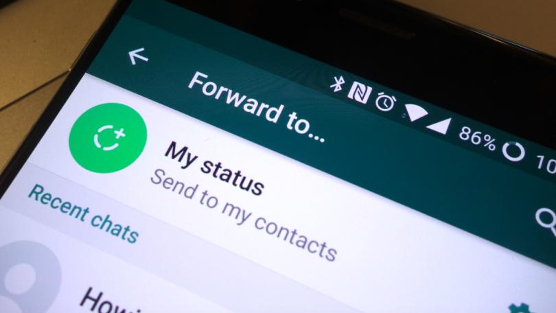 WhatsApp prosljeđivanje poruka - Naslovna
