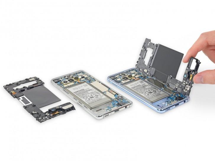 Samsung Galaxy S10e S10 S10+ iFixit popravak - Naslovna