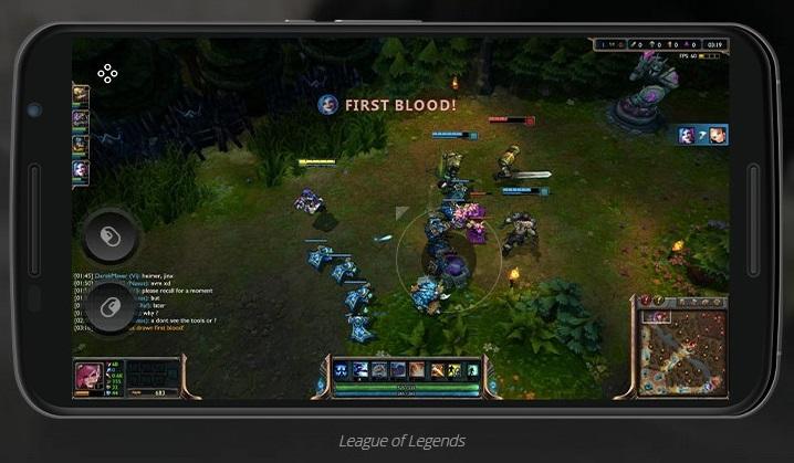 League of Legends na telefonu Android iOS - Naslovna