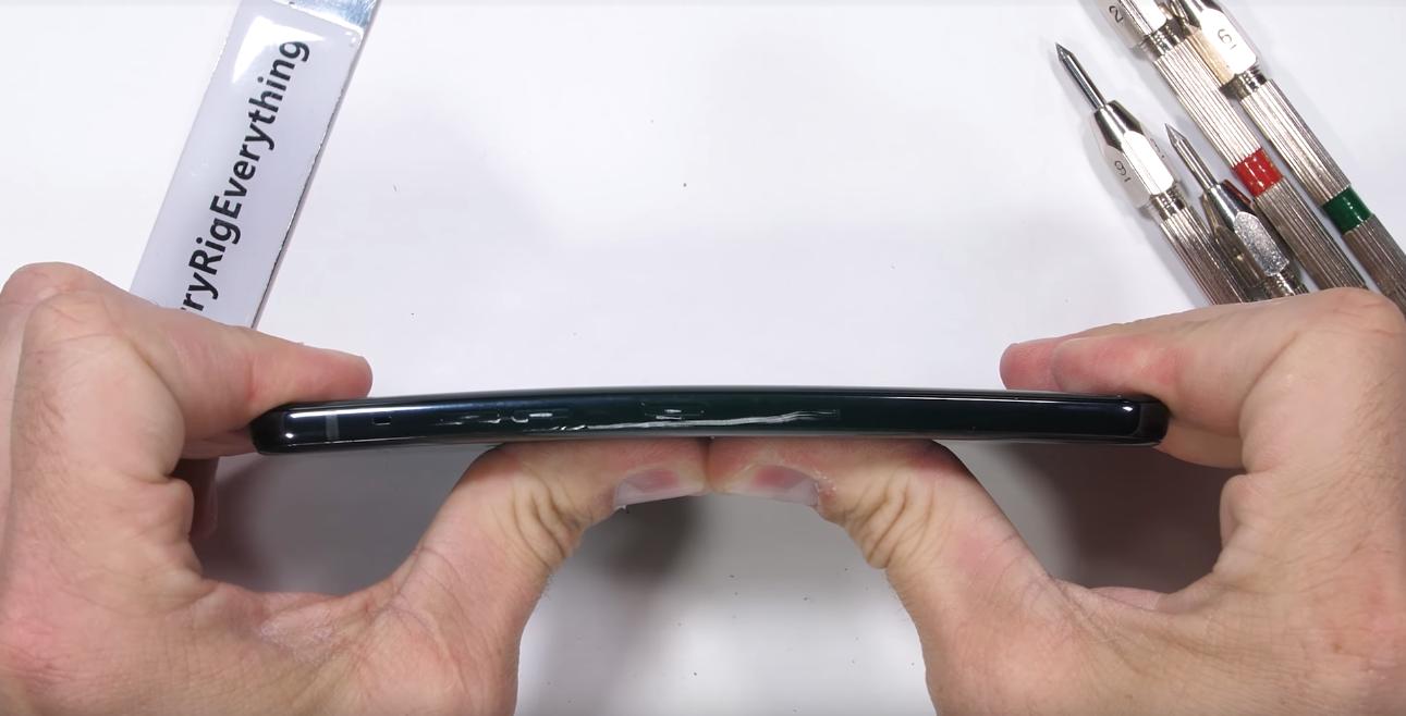 LG G8 ThinQ test izdržljivosti JerryRigEverything - Naslovna