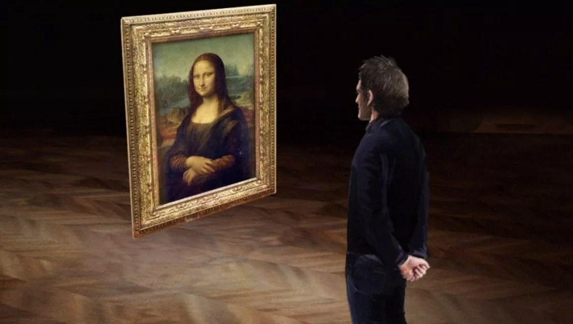 HTC Vive Louvre Mona Lisa