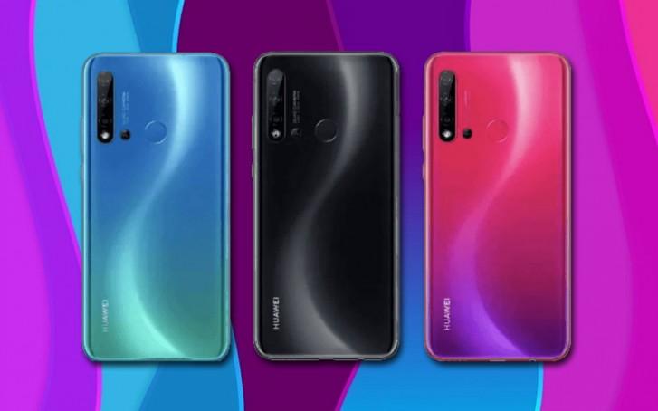 Huawei Nova 5i specifikacije četiri kamere - Naslovna
