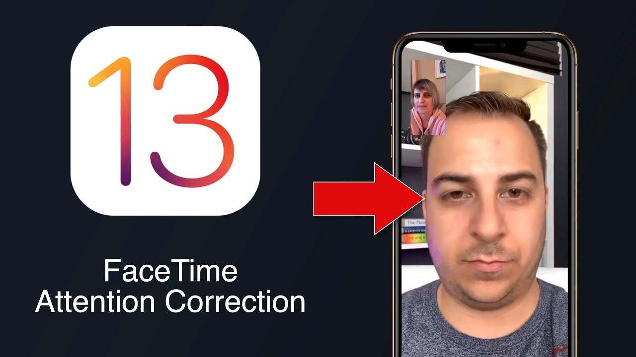 iPhone iOS 13 FaceTime ispravljanje očiju - Naslovna