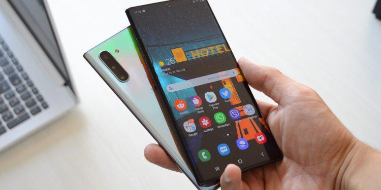 Samsung Galaxy Note 10 dojmovi kutija