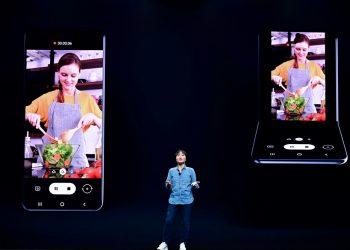 Preklopni savitljivi telefon koji je Samsung nakratko pokazao na SDC-u