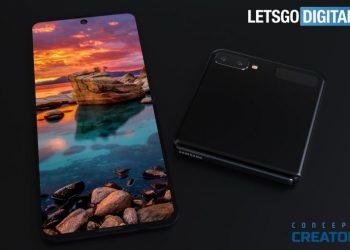 Samsung Galaxy Z Flip koncept