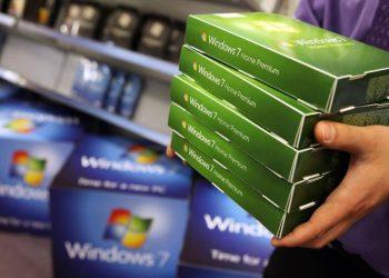 kraj podrške za Windows 7
