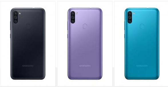 Samsung Galaxy M11 boje