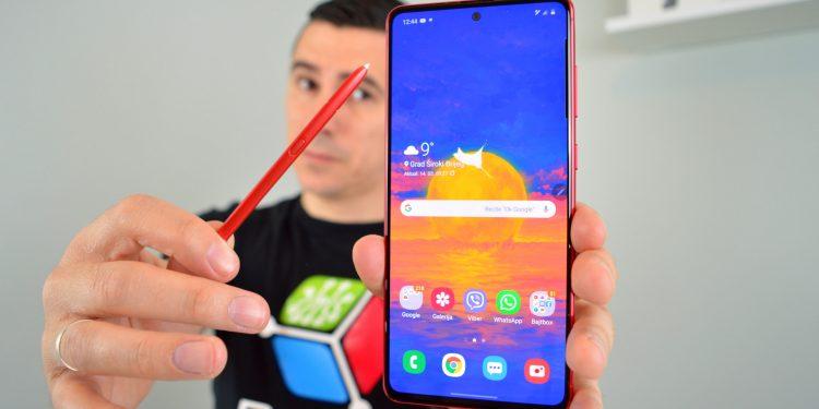 Samsung Galaxy Note 10 Lite dojmovi unboxing