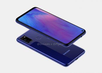 Samsung Galaxy M51 renderi
