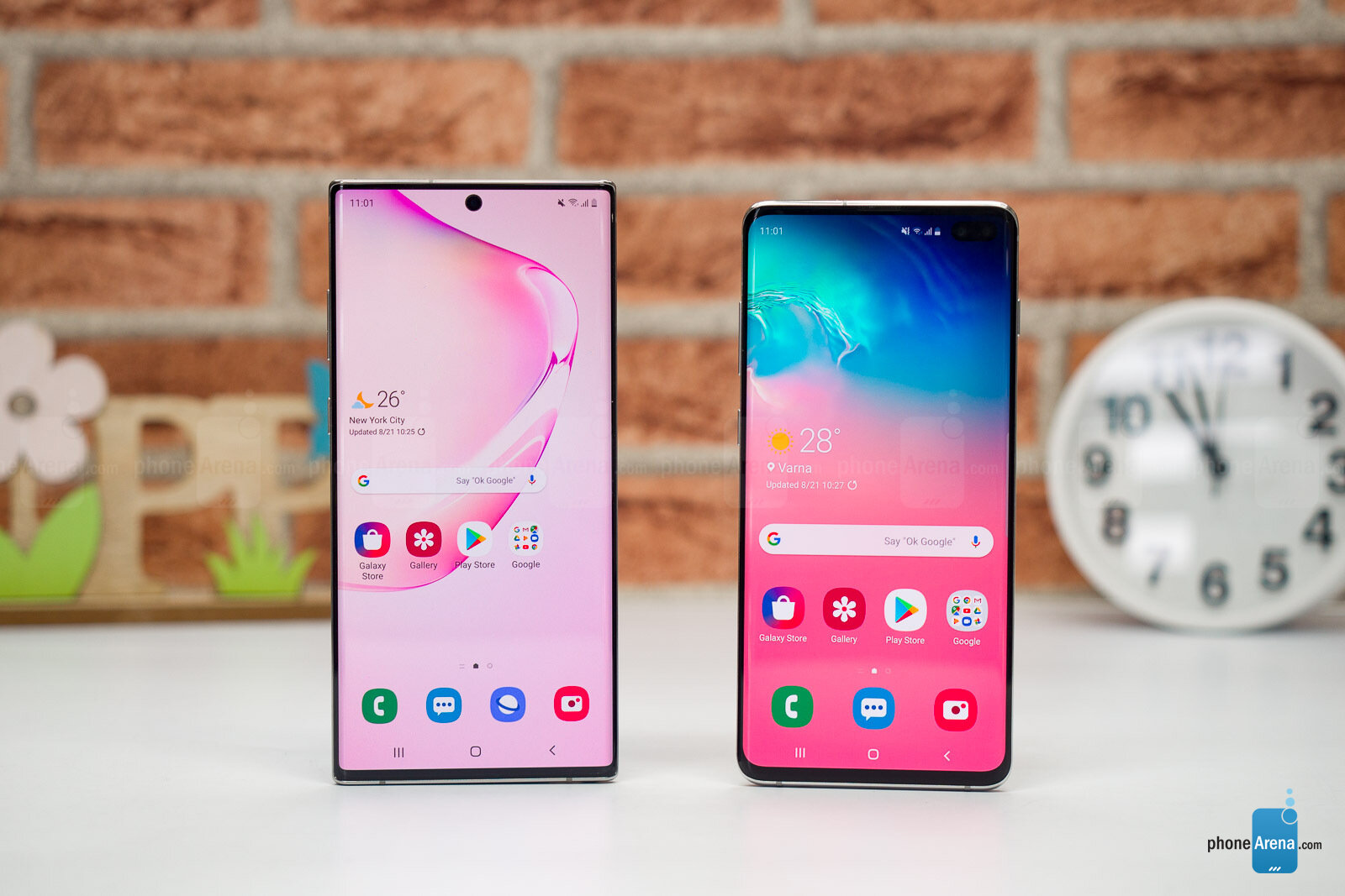 Note 10 i S10