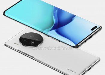 Huawei-Mate-40-Pro- renderi