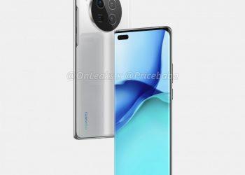Huawei Mate 40 Pro neslužbeni renderi