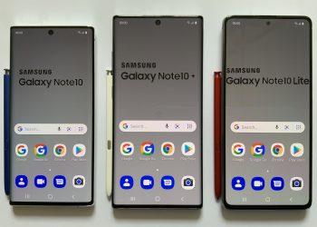 Samsung Galaxy Note 10 Samsung Galaxy Note 10+ Samsung Galaxy Note 10 Lite