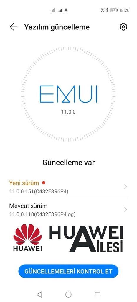 Huawei P40 Pro EMUI 11