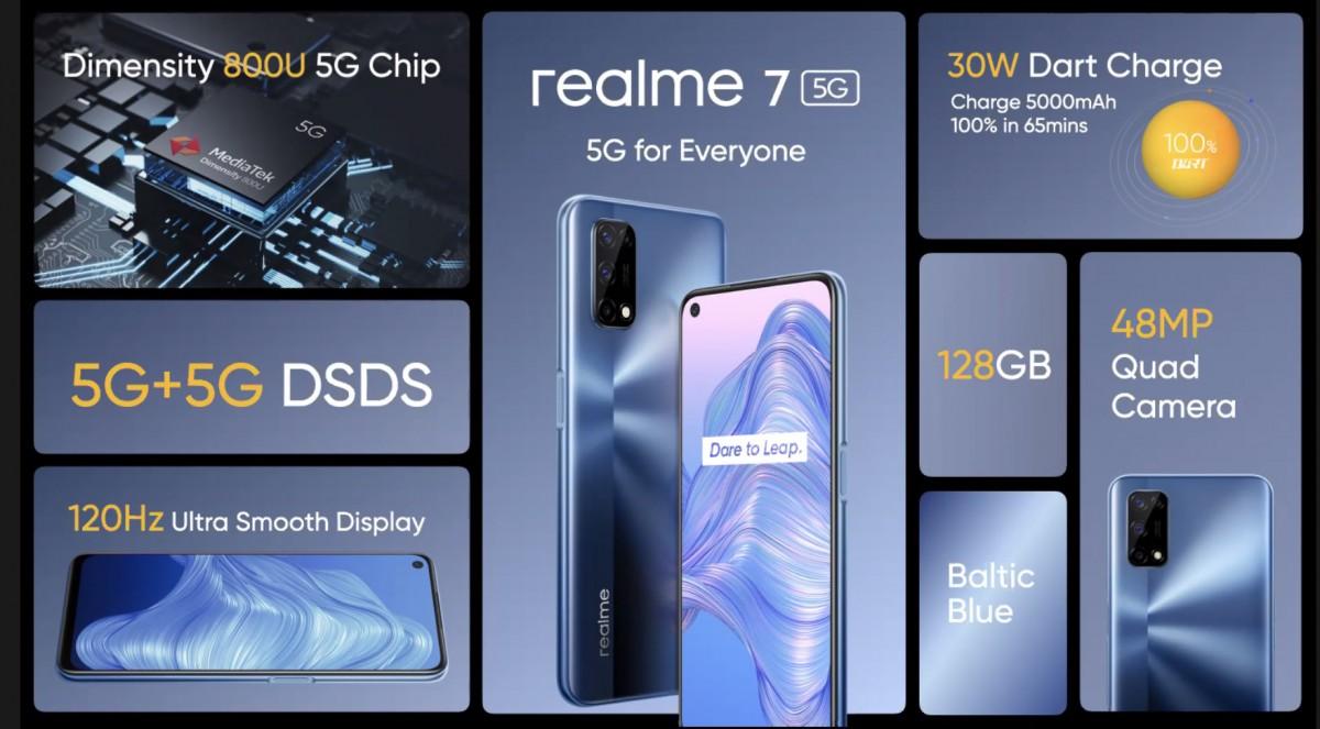 Realme 7 5G cijena specifikacije