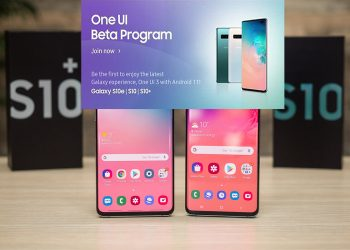 Samsung Galaxy S10 One UI 3.0-