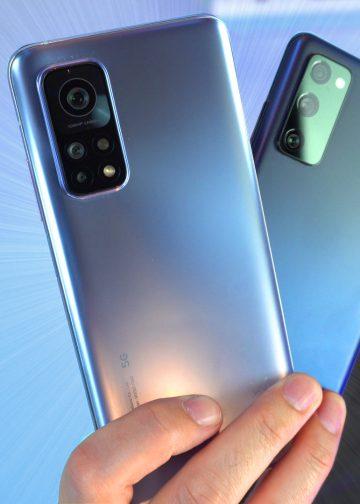 Xiaomi Mi 10T Pro vs Samsung galaxy S20 Fe usporedba