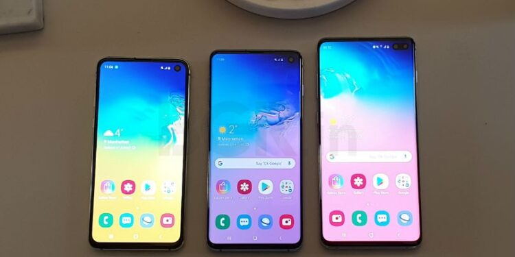 Samsung Galaxy S10 Android 11 One UI 3.0